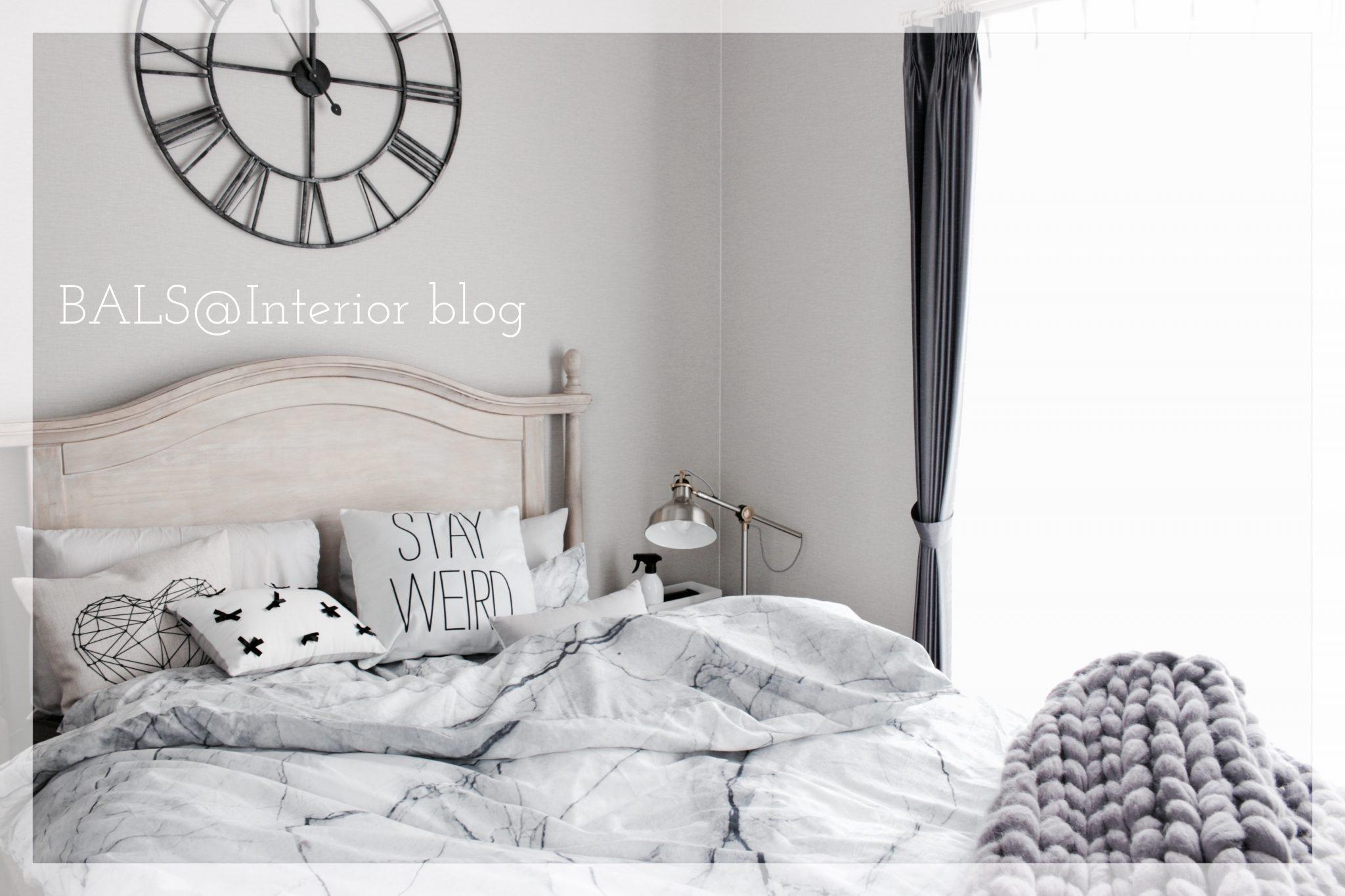 《寝室*インテリア》オシャレなベッドカバー&ちょっとした模様替え*