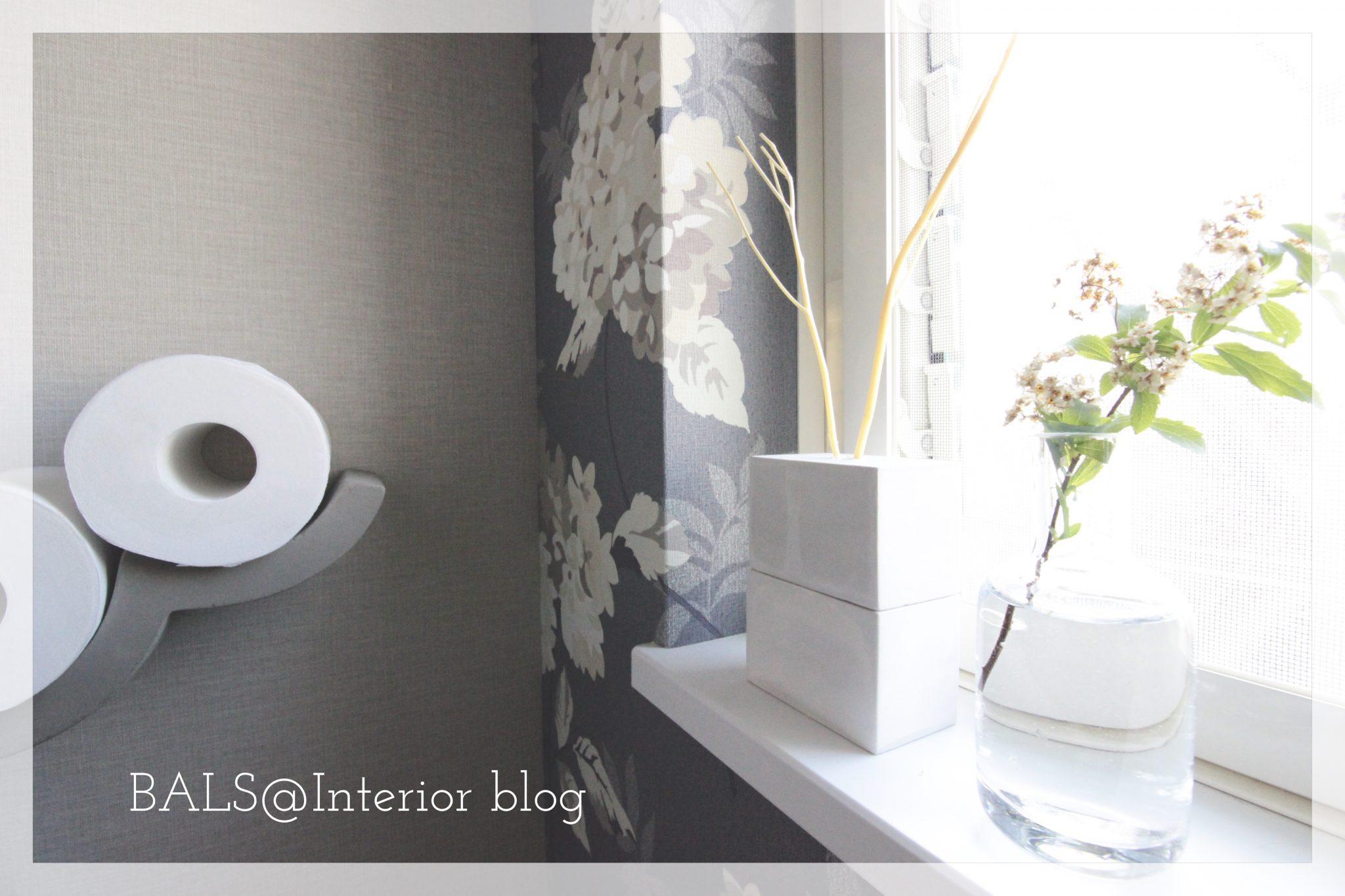 《トイレ インテリア完成‼︎》壁紙・トイレットペーパー収納・おしゃれ雑貨を紹介*