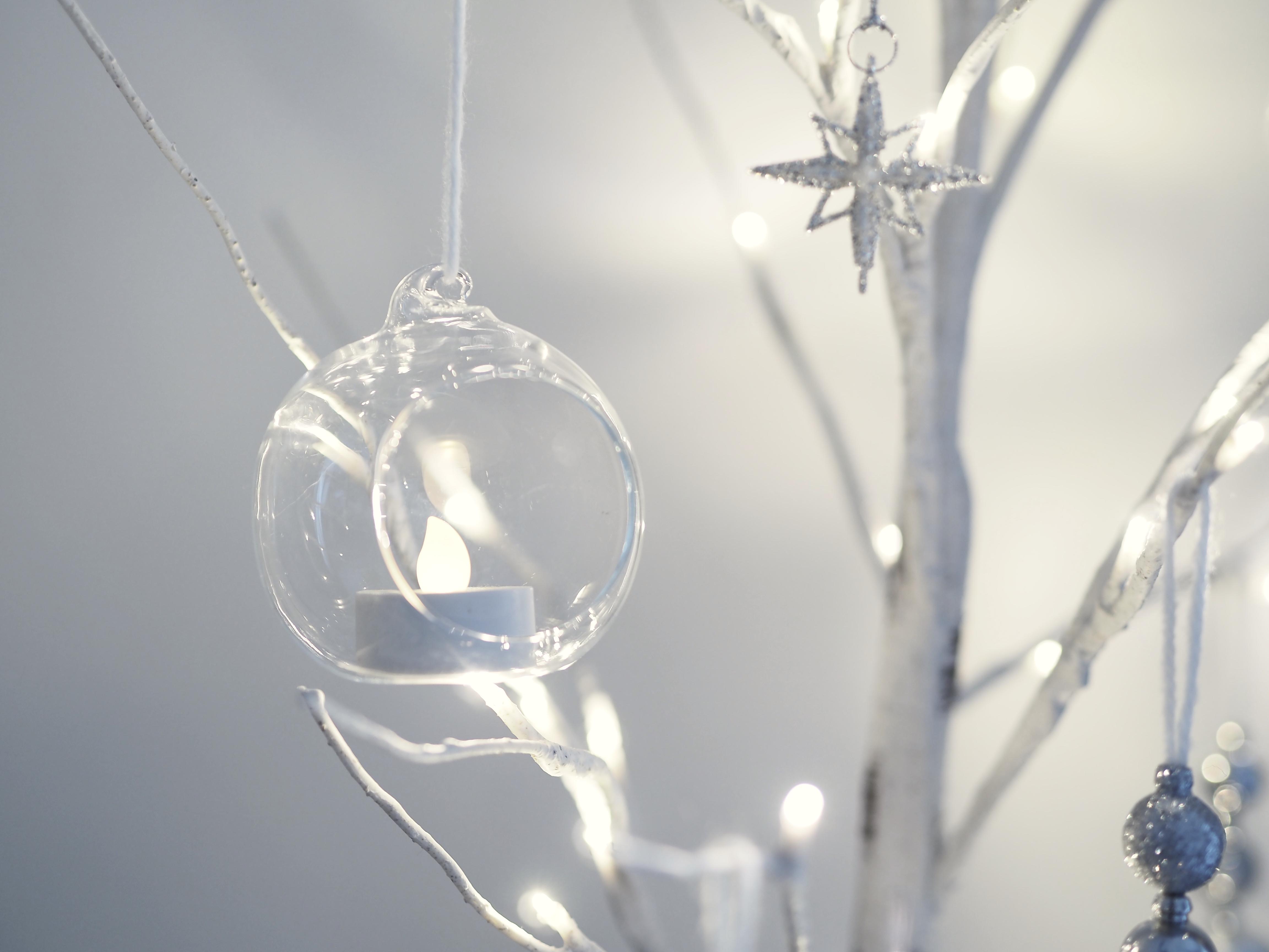 《クリスマス》100均で作る!簡単おしゃれな手作りオーナメント*